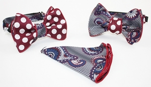 Free Style Double Sided Bow-Tie -PLBT-026 PLBT-026