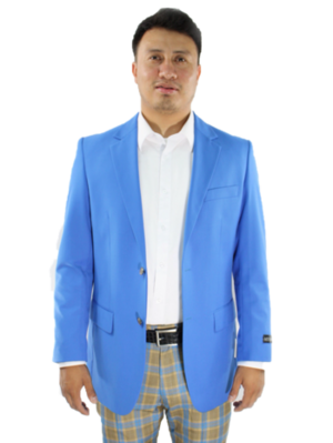 Solid Blazer Royal Blue SolidBlazerRBlue