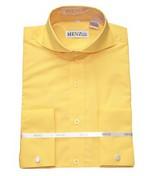 Cutaway Collar Shirts-Gold SC008-cutawaysolid