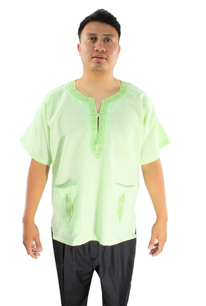 Solid Dashikis Soft Green soliddashikissoftgreen