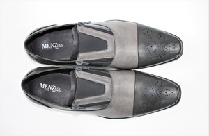 Zip on Menz 011 Grey-Grey ZIPONMENZ011-Grey-Grey