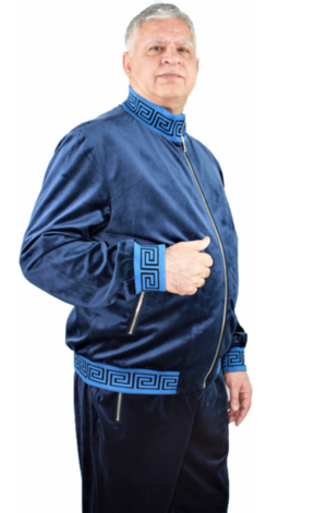 Sweat Suit Greek-Navy greek-navy