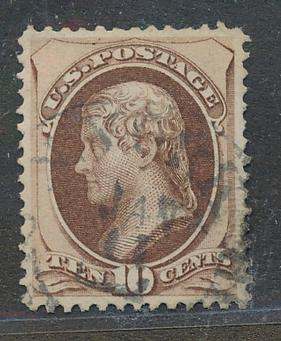 139 10c Jefferson with H Grill  Used Minor Defects #139usedmd