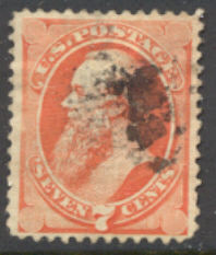 149 7c Stanton vermilion, without grill, Used AVG-F #149usedavg