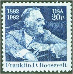 1950 20c Franklin D. Roosevelt F-VF Mint NH #1950nh