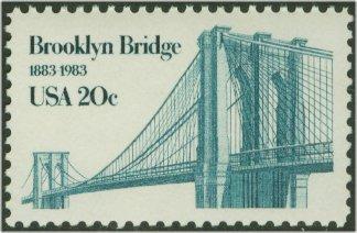 2041 20c Brooklyn Bridge Used #2041used