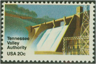 2042 20c Tennessee Valley Used #2042used