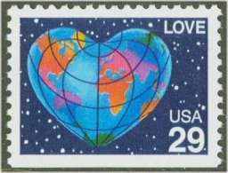 2536 29c Love [from booklet] F-VF Mint NH #2536nh
