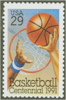 2560 29c Basketball F-VF  Used #2560used