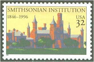 3059 32c Smithsonian Institute Used Single #3059used