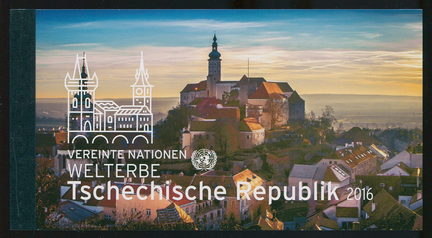 UNV 594 Czech Republic Prestige Booklet #unv594bk