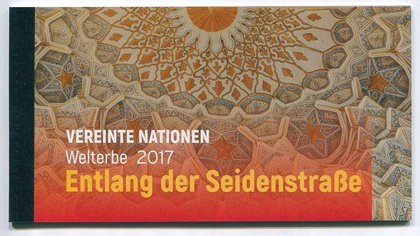 UNV 609 World Heritage Silk Roads Prestige Booklet #unv609bk