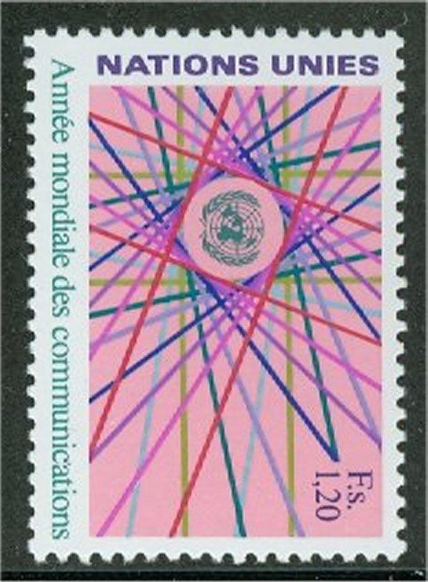 UNG 113 1.20 fr. Comm. Year UN Geneva Mint NH #ung113nh