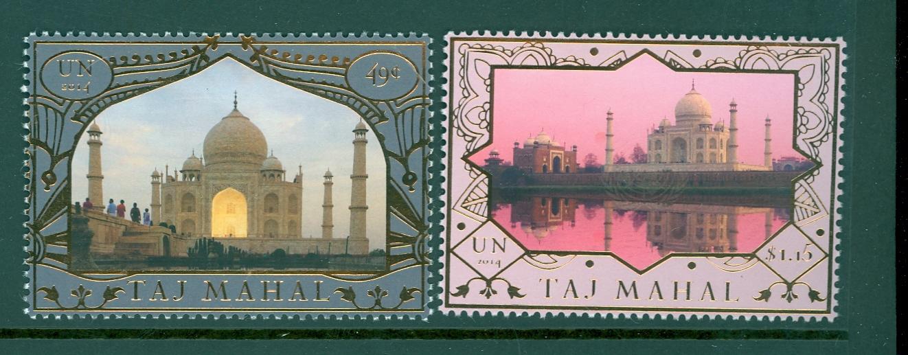 UNNY 1090-91 49c $1.15 Heritage India Mint NH #ny1090-91nh