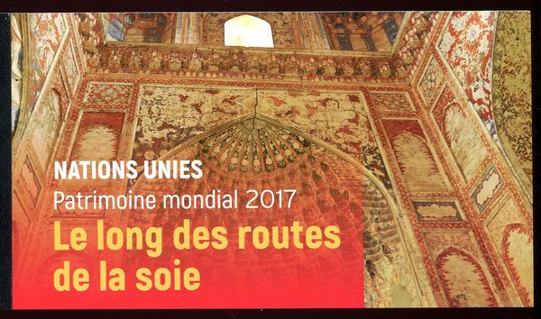 UNG 640 World Heritage Silk Roads Prestige Booklet #ung640bklt