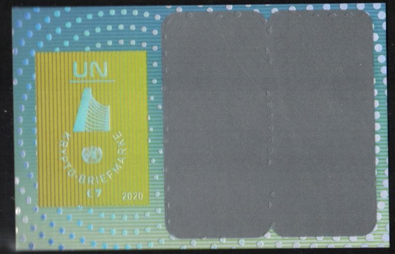 UNV 668 €7.00 Crypto Miniature Sheet  #unv668