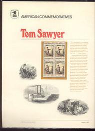 1470 8c Tom Sawyer USPS Cat. 4 Commemorative Panel cp004