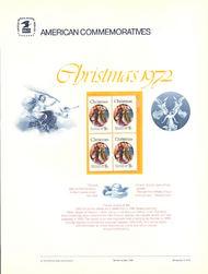 1471 8c Christmas-Angel USPS Cat. 6 Commemorative Panel cp006