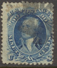 101 90c Wash., Blue, F Grill Used Minor Defects 101usedmd