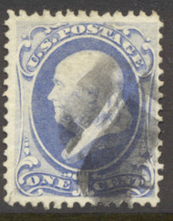 134 1c Franklin, with H Grill, AVG-F Used 134uavg