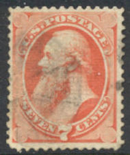 138 7c Staunton Vermilion with H Grill Used Minor Defects 138usedmd