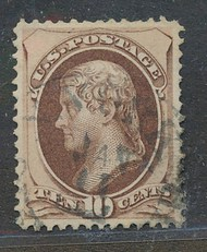139 10c Jefferson with H Grill  Used Minor Defects 139usedmd