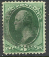 207 3c Washington, green Used AVG 207uavg