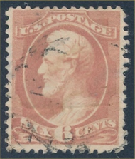 208 6c Lincoln, rose Used AVG 208uavg