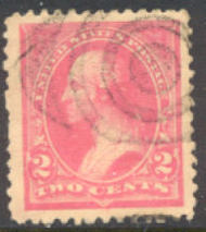 248 2c Washington , pink, Triangle I, AVG Used 248useavg