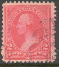 250 2c Washington ,carmine, Triangle.I, AVG Used 250usedavg