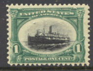294 1c Pan-American Steamship , Mint NH Minor Defects 294nhmd