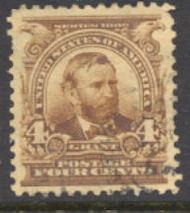 303 4c Grant, brown, AVG Used 303uavg
