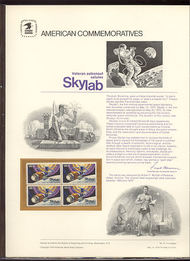 1529 10c Skylab USPS Cat. 31 Commemorative Panel cp031