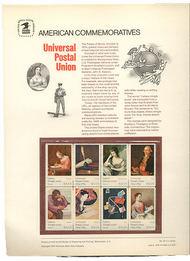 1530-37 10c UPU USPS Cat. 32 Commemorative Panel cp032