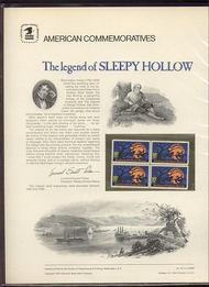 1548 10c Sleepy Hollow USPS Cat. 39 Commemorative Panel cp039
