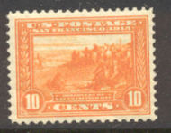400A 10c Pan-Pacific S.F. Bay, orange, Perf 12, F-VF Mint NH 400anh