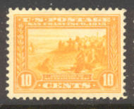 400 10c Pan-Pacific S.F. Bay, org yell. Perf 12,Mint NH Minor Defects 400nhmd