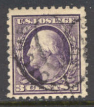 426 3c Washington Perf 10, SL Wmk, Used Minor Defects 426umd
