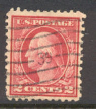 499 2c Washington, rose, Type I, Used AVF 499usedavg