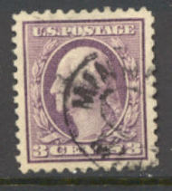 501 3c Washington,lt violet,Ty. I, Used F-VF 501usedavg