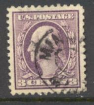 501 3c Washington,lt violet,Ty. I, Used F-VF 501used