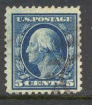 504 c Washington, blue, Used F-VF 504used