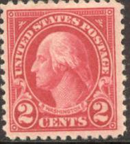 554 2c George Washington AVG Mint NH 554nhavg