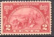 615 2c Huguenot-Walloon AVG AVG Mint NH 615nhavg