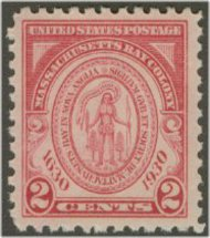 682 2c Massachusets Bay F-VF Mint NH 682nh