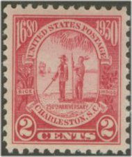 683 2c Charleston F-VF Mint NH 683nh