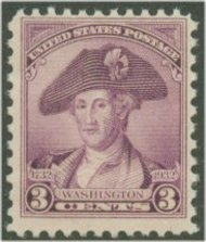 708 3c Washington Bicentennial F-VF Mint NH 708nh