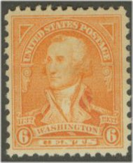 711 6c Washington Bicentennial F-VF Mint NH 711nh