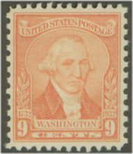 714 9c Washington Bicentennial F-VF Mint NH 714nh