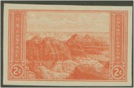 757 2c Grand Canyon Imperforate F-VF Mint NH 757nh